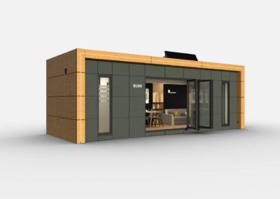 Tiny House BLOXS 9 metres long 1 room flat
