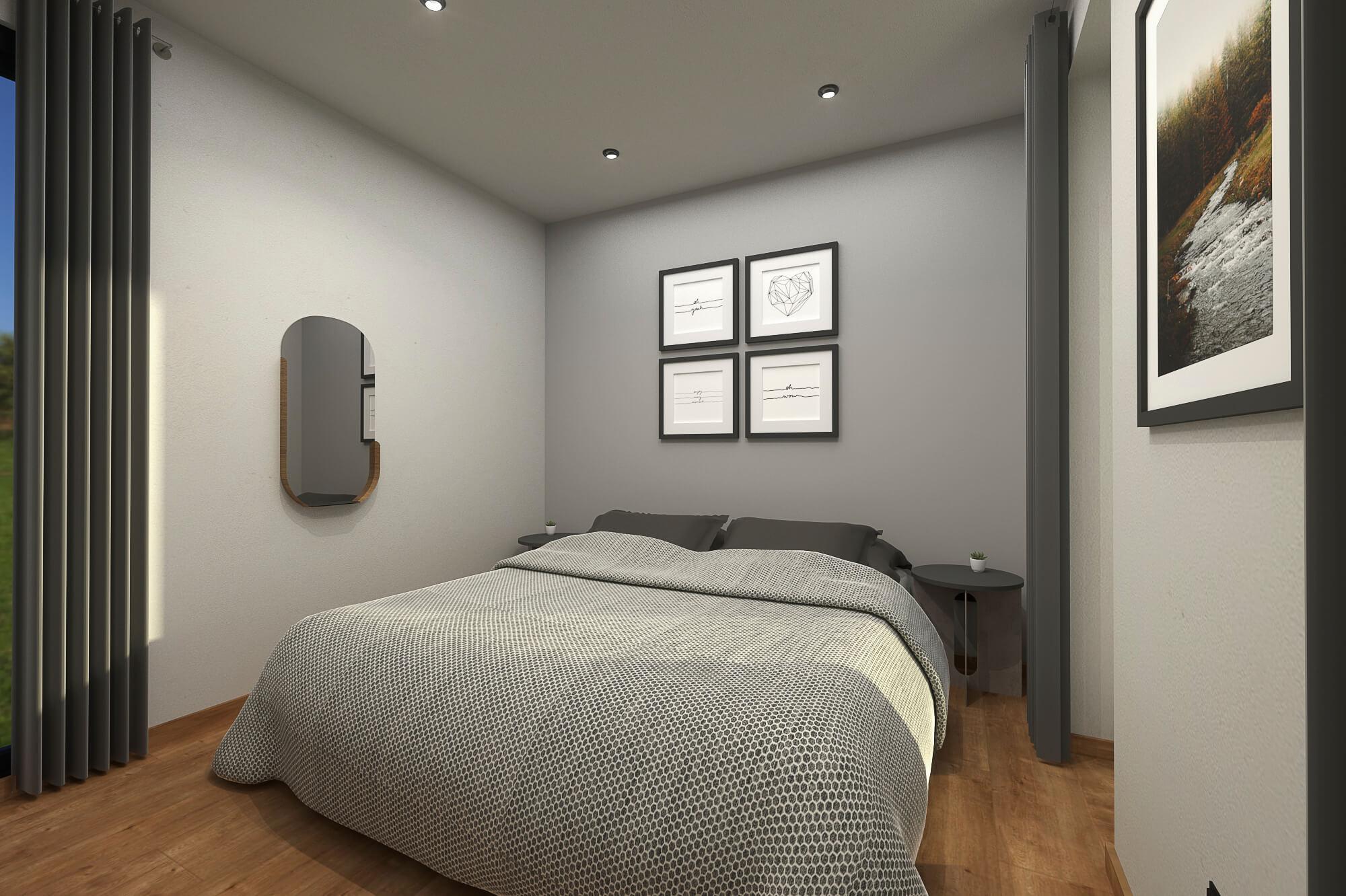 Tiny House BLOXS mit separatem Schlafzimmer