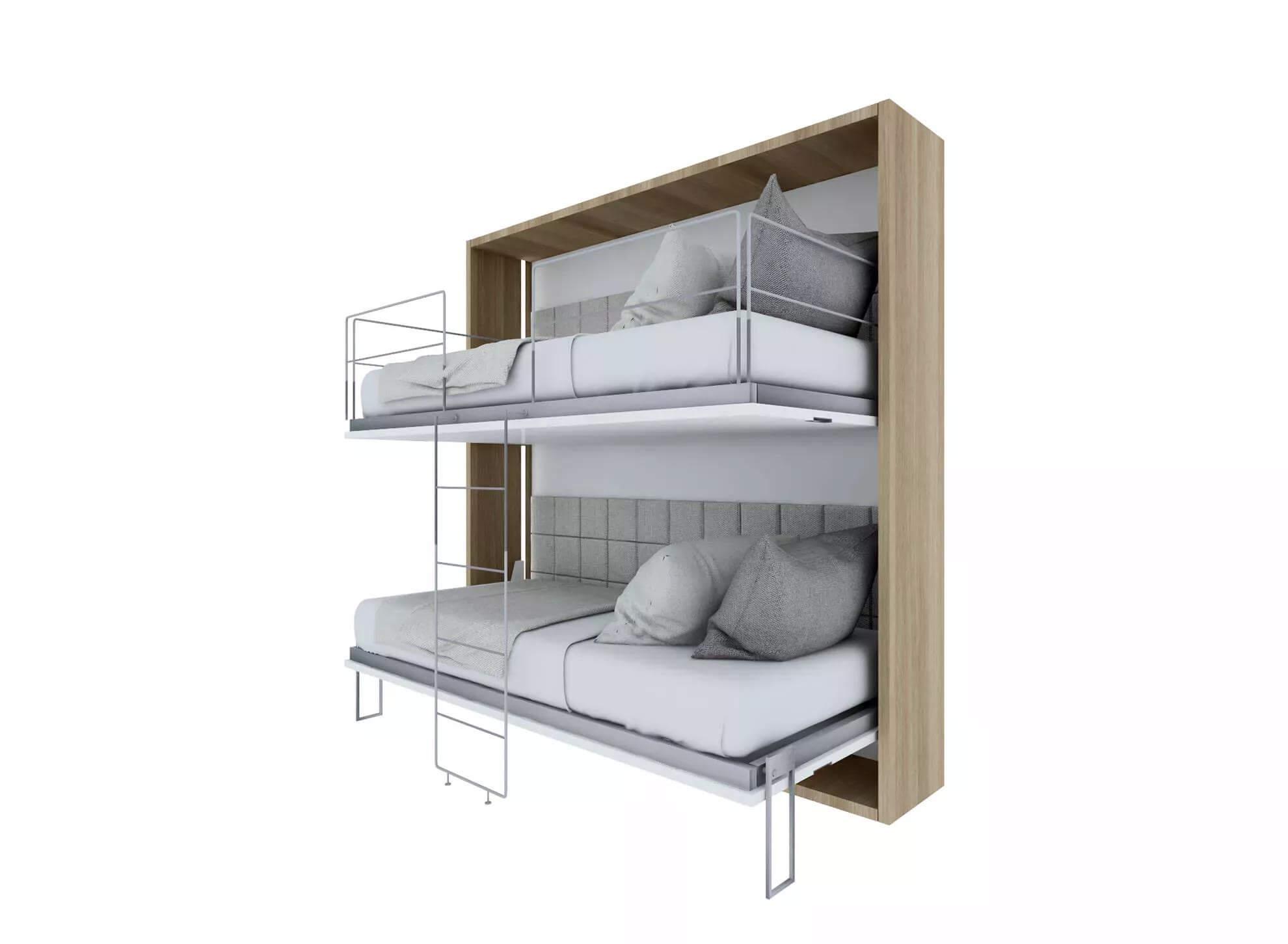 Tiny House BLOXS elements smart furniture Klappbett Doppelbett Stockbett Etagenbett