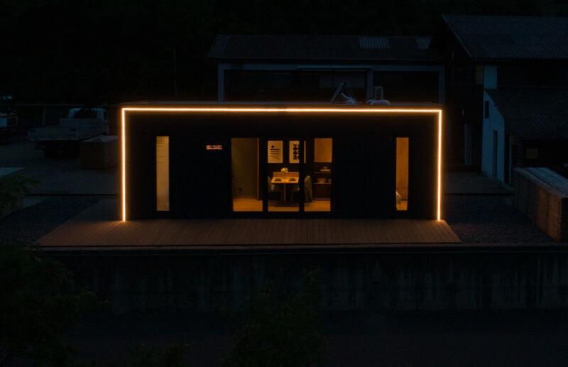 Philips Hue am Tiny House BLOXS als Hingucker