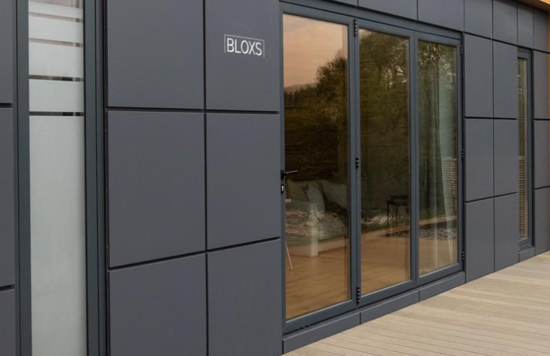 Tiny House BLOXS Fassade Aluminiumverbundpaneele